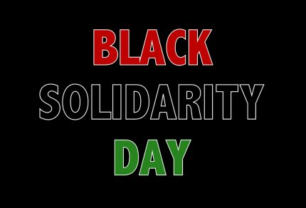 Logo of Black Solidarity Day